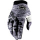 100% iTrack Bike Gloves grey
